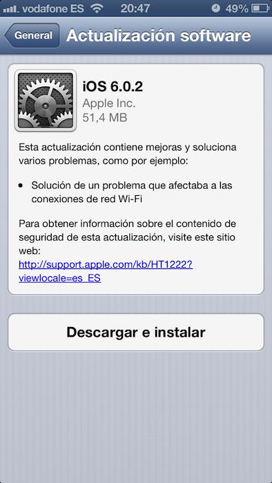 iOS 602