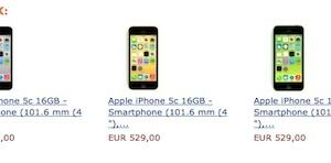 iPhone 5c  amazon descuento