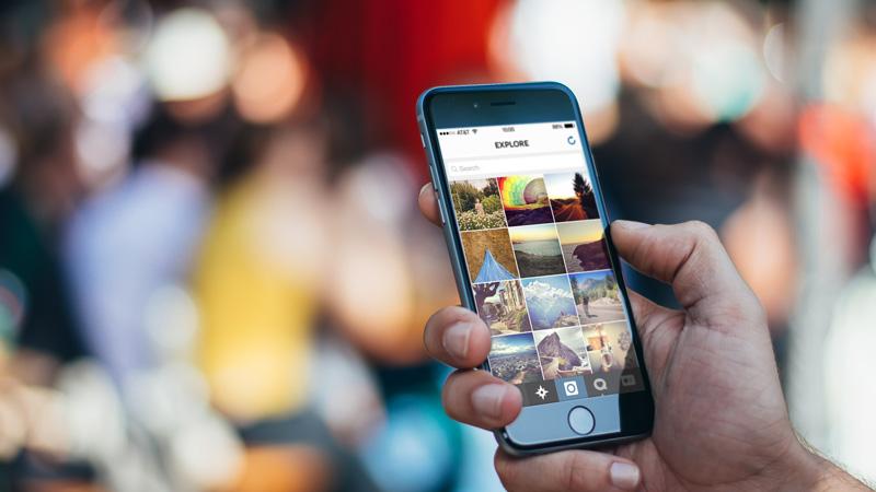 explorar videos en Instagram