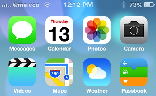 iOS 7 Theme Cydia