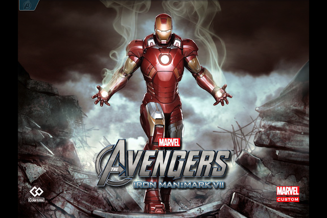 iron man 1 Marvels The Avengers: Iron Man  Mark VII: el cómic interactivo