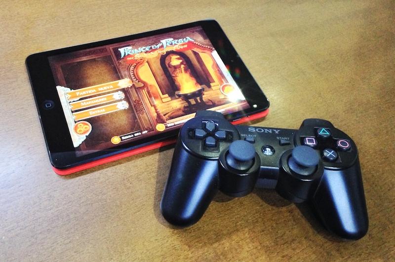 mando PS3 iPad mini