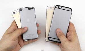 maqueta iPhone 6 vs iphone 5s