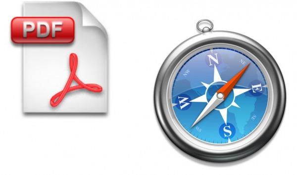 Safari y archivos pdf