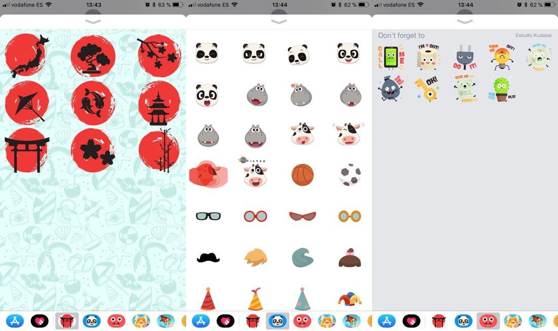 Stickers para iMessage