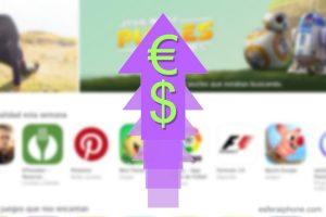 Subida de precios App Store Europa y Mexico